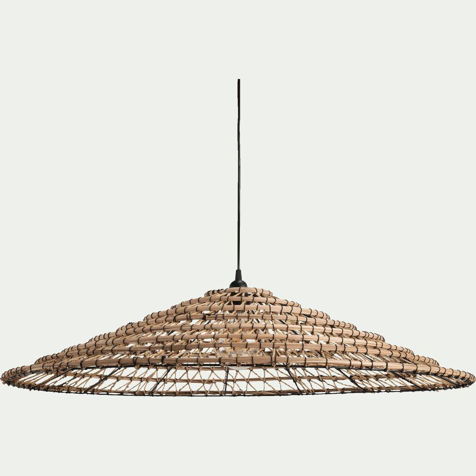 Suspension en fibre de palmier non électrifiée - naturel D88cm-VEGETAL