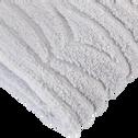 Drap de bain 100x150cm gris-ONDINE