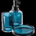 Gobelet en verre bleu-OSCO