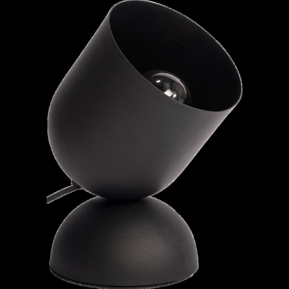 Métal Noir 5cm Palmir Poser Lampe En À H25 qMpSGzVU