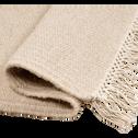 Tapis en laine beige roucas - plusieurs tailles-ULISSE