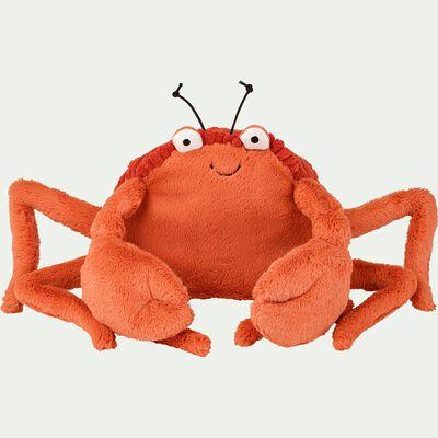 Peluche crabe - orange h15cm-Crispin
