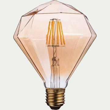 Ampoule décorative LED D11cm culot E27-DIAMANT