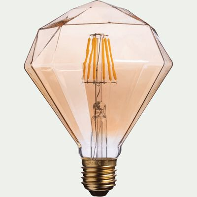Ampoule décorative LED D11cm culot E27-DIAMANT