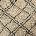 tapis tiss cru et noir 140x200cm berbere 140x200 cm grands tapis de salon alinea. Black Bedroom Furniture Sets. Home Design Ideas