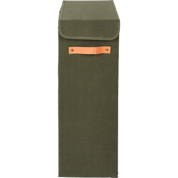 Panier à linge vert H21cm-ERRO