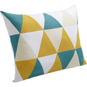 Coussin à motifs triangles 45x60cm-TRIANGLES