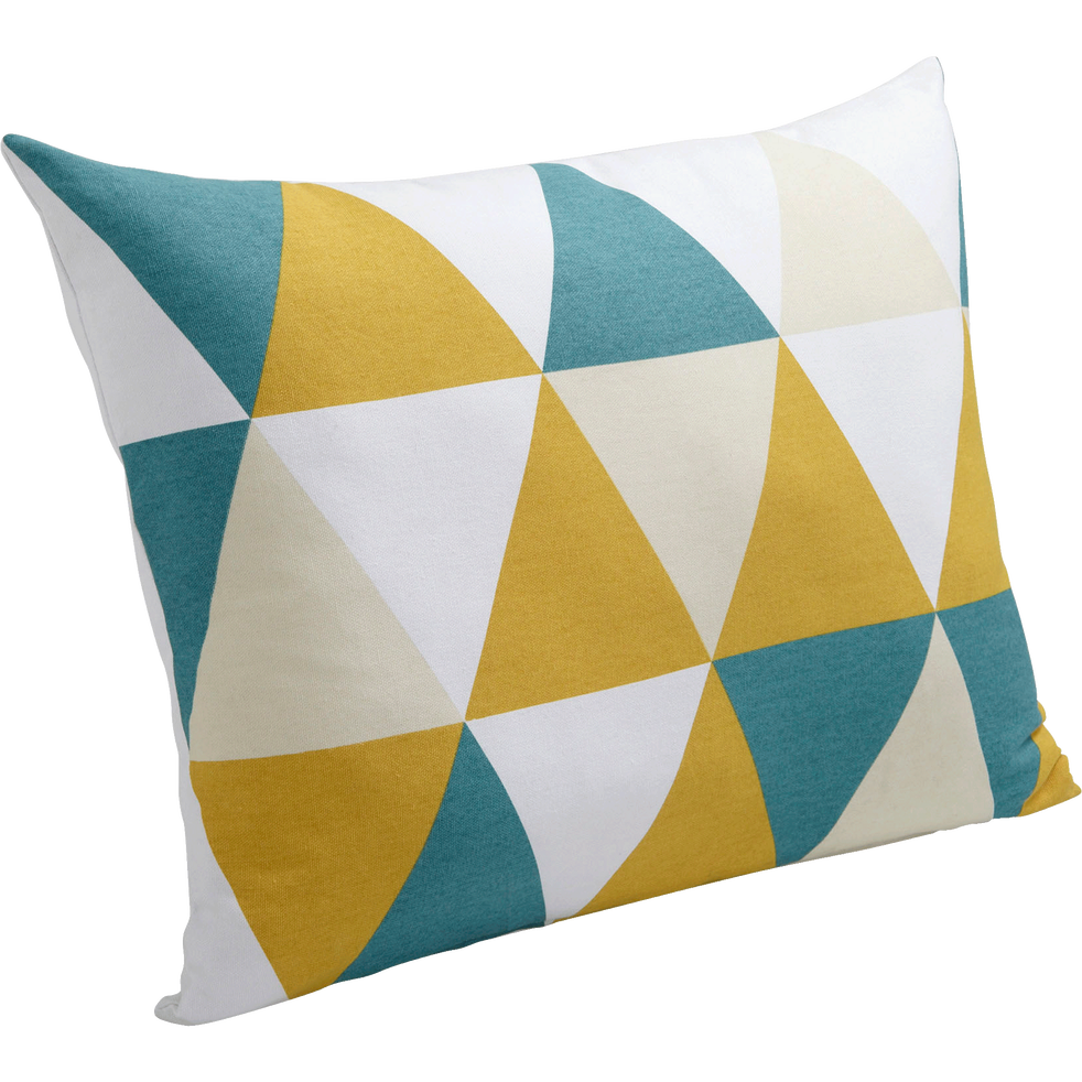 Coussin à motifs triangles 45x60cm-TRIANGLES