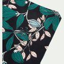 Parure de lit en coton imprimé Fleurs - 260x240 & 63x63 cm-FIORE