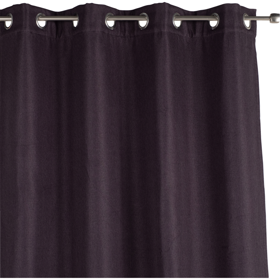 Rideau thermique gris calabrun 135x300cm-PINEDE