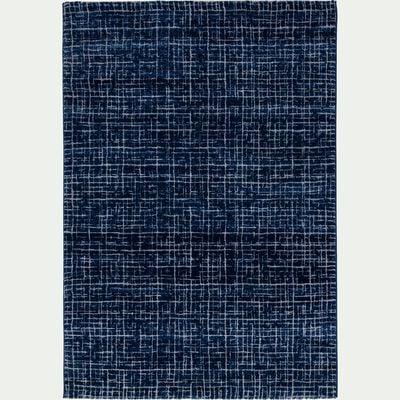Tapis à motifs - bleu 160x230cm-BAPTISTE
