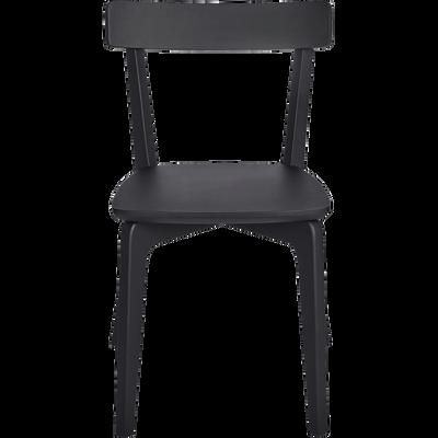 Chaise En Bois Noir Calabrun SUZIE