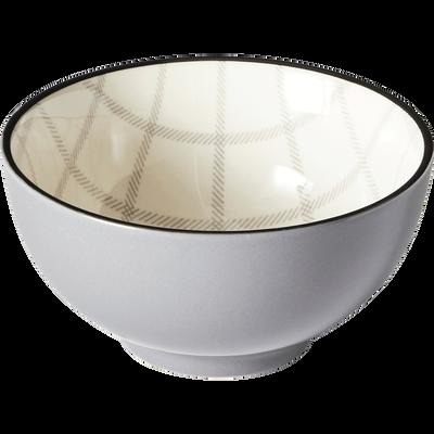 Coupelle en grès gris D11cm-TARTAN