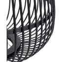 Lampe à poser en bambou noir D42xH53cm-NIMES