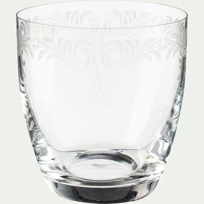 Verre à eau en cristallin 30cl-LUME