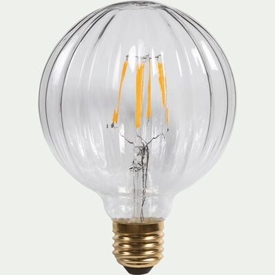 Ampoule LED décorative D9,5cm culot E27-STRIE