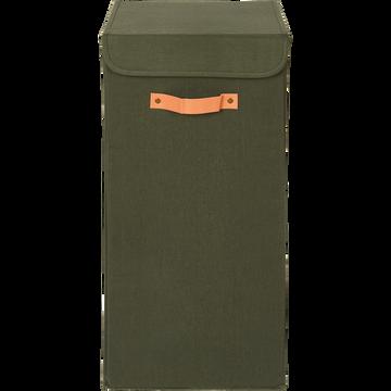 Panier à linge vert H30cm-ERRO