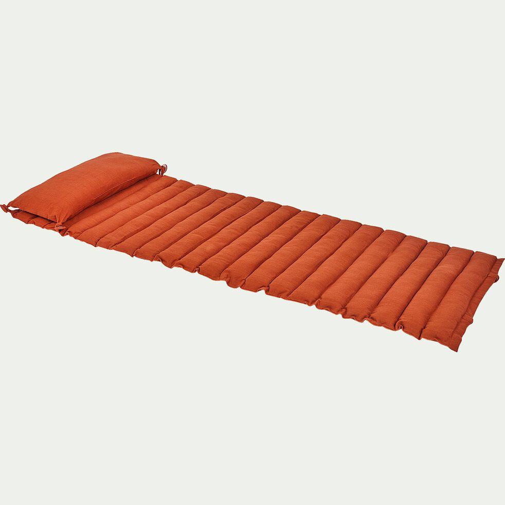 Matelas de plage - orange 60x170cm-JAMMAL