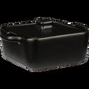 Mini cocotte carrée en grès noir L13,5cm-MIOU