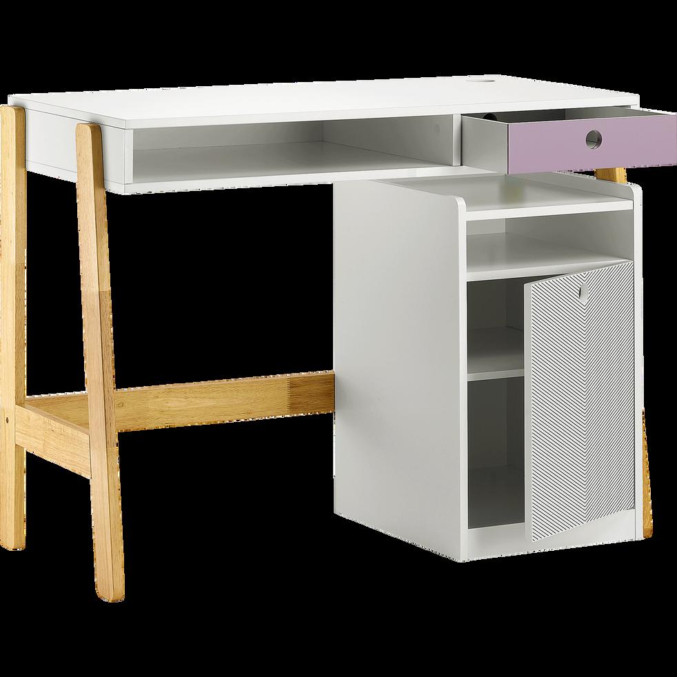 bureau enfant avec caisson sur roulettes optic chaises et bureaux enfant alinea. Black Bedroom Furniture Sets. Home Design Ideas