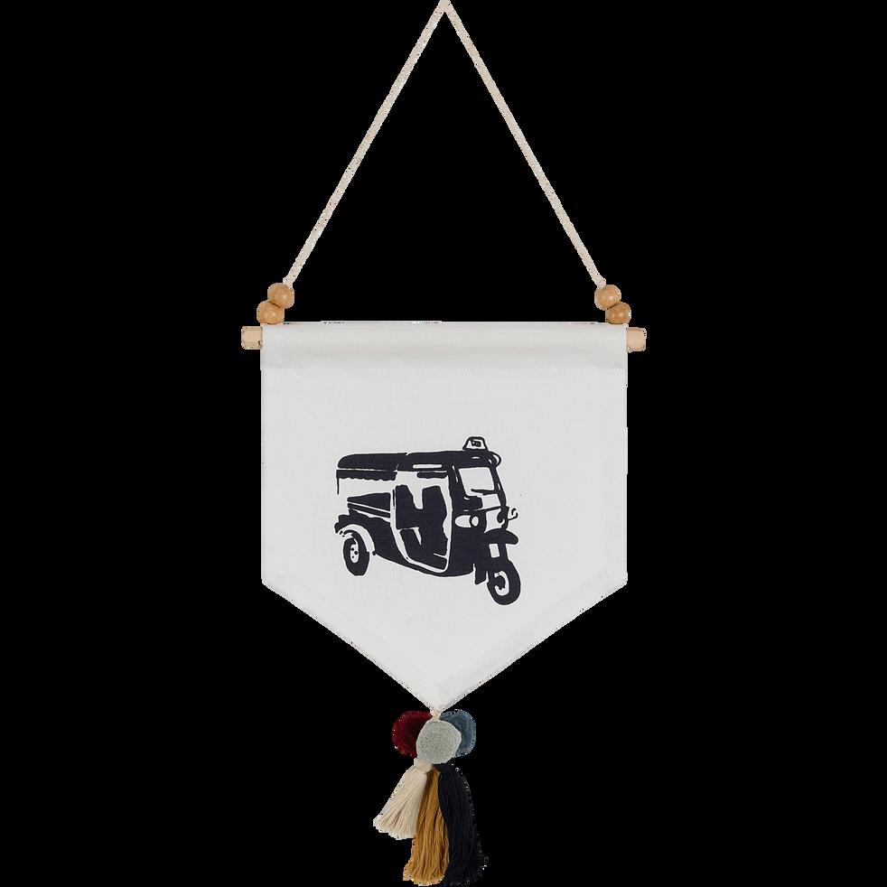 fanion à suspendre motif tuk-tuk-SOCOA