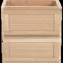Bloc de 2 tiroirs L40cm-Tassia