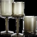 Verre à eau en verre fumé 45cl-NECTAR