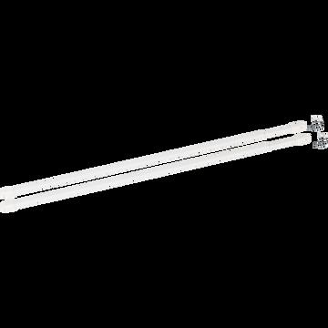 Tringle extensible pour vitrage 30 à 50cm-Vitrage