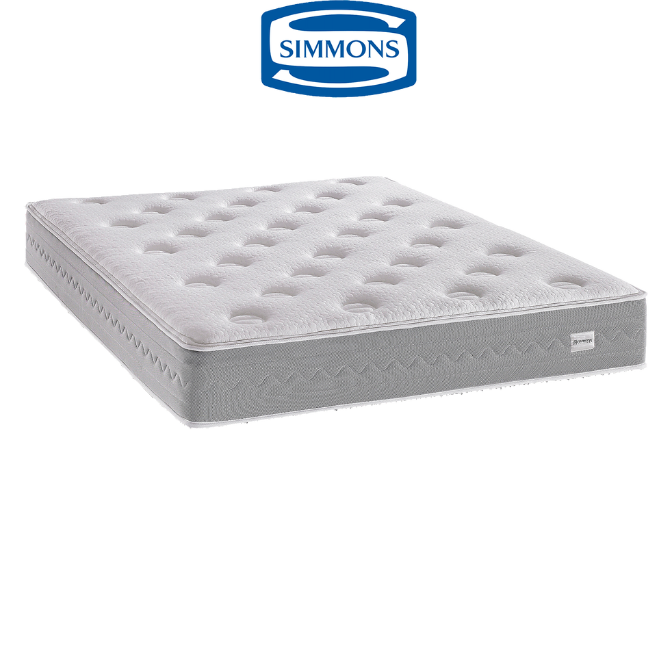 matelas ressorts ensach s simmons 29 cm 160x200 cm eridan 160x200 cm catalogue. Black Bedroom Furniture Sets. Home Design Ideas