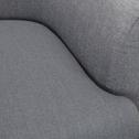 Fauteuil en tissu gris restanque-MONA
