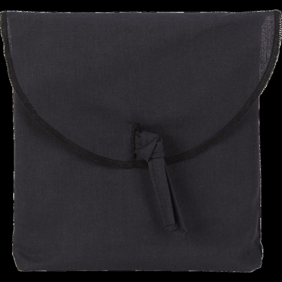 Lot de 2 taies d'oreiller en coton Gris calabrun 50x70cm-CALANQUES