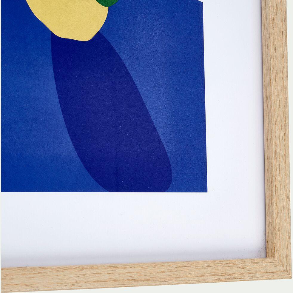 Image encadrée d'une poire 30x40cm-PERRY