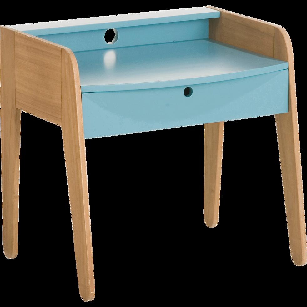 bureau en acacia pour enfant bleu raphael chaises et bureaux enfant alinea. Black Bedroom Furniture Sets. Home Design Ideas