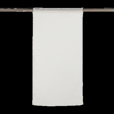 Vitrage blanc ventoux 60x120cm-DUNE