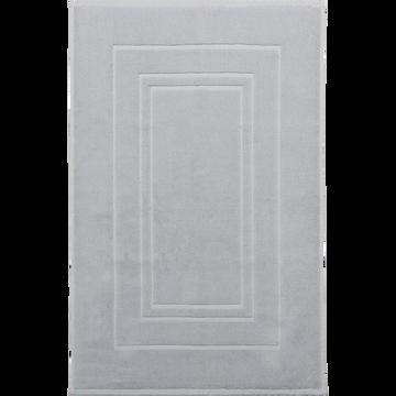 Tapis de bain en coton 50x80cm gris borie-AZUR