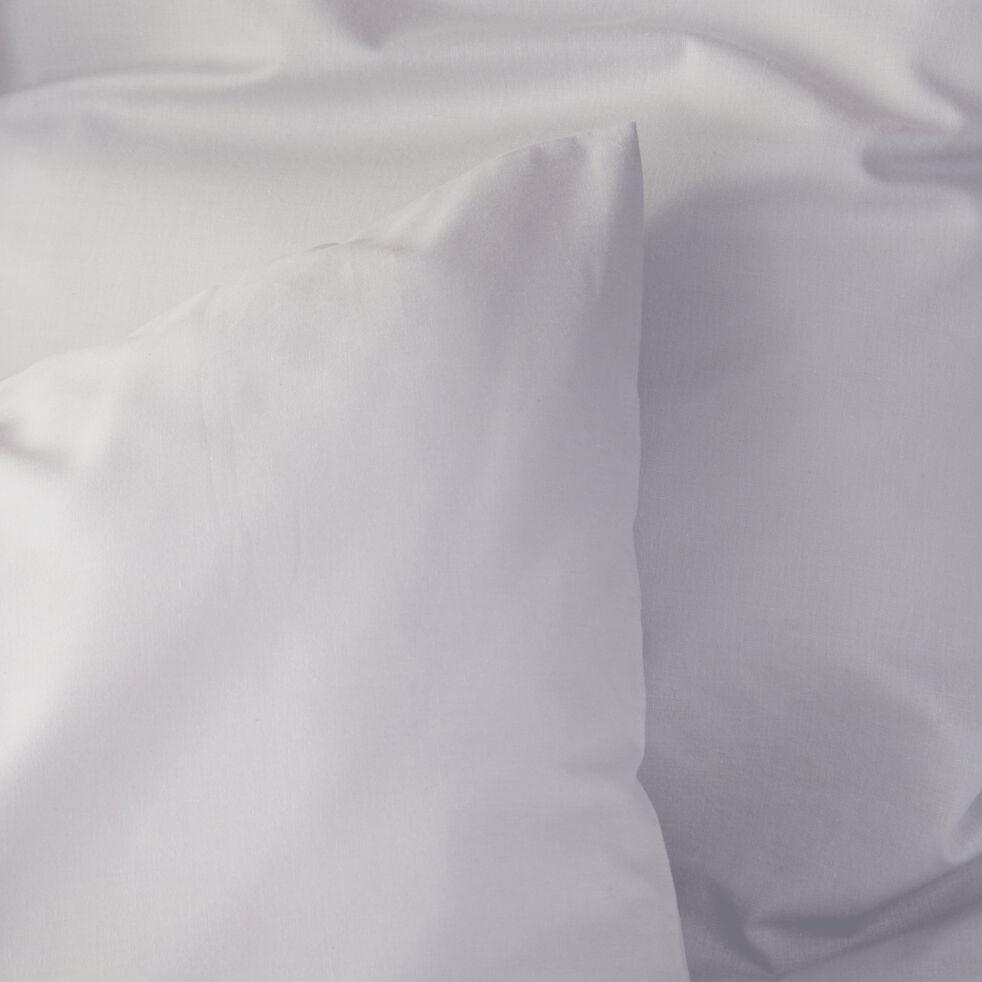 Lot de 2 taies d'oreiller en coton - gris borie 50x70cm-CALANQUES