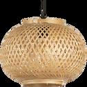 Suspension non électrifiée en bambou D30xH22cm-TOUCAS
