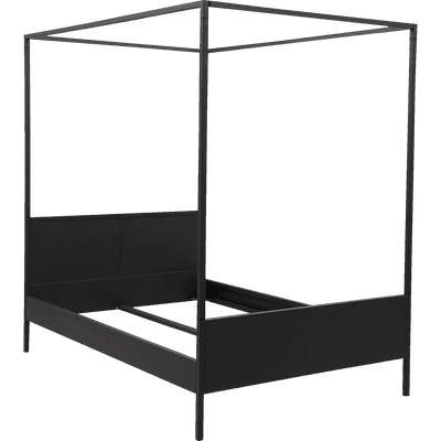 lit 2 places cadres de lit double lits 160x200 alinea. Black Bedroom Furniture Sets. Home Design Ideas