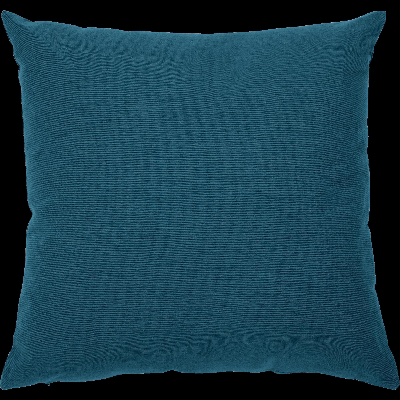 CALANQUES - Coussin en coton bleu figuerolles