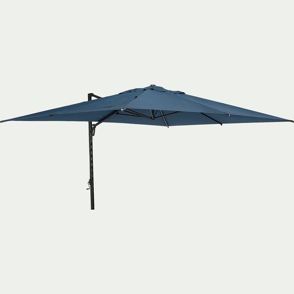 Parasol déporté rotatif - bleu figuerolles 400x300cm-Acana