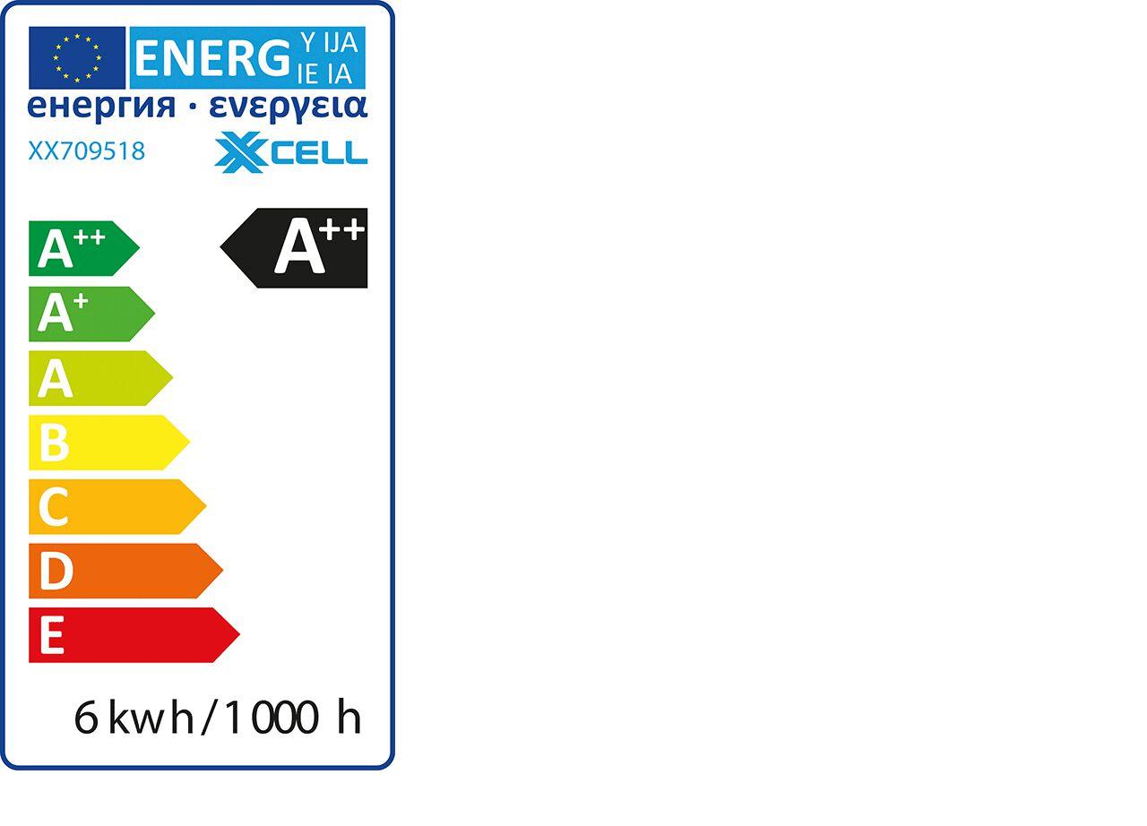 Ampoule LED à filament culot E14 - blanc chaud-STANDARD