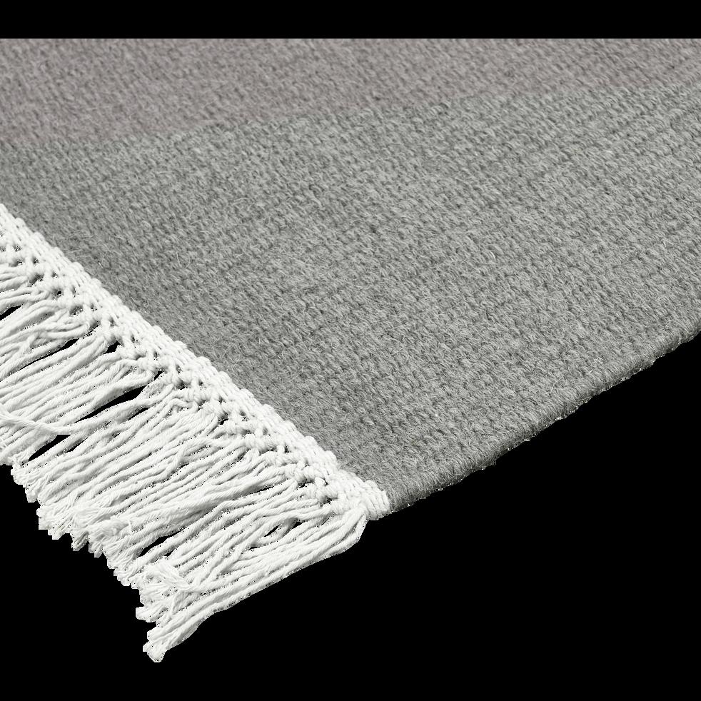 Tapis en laine gris restanque - plusieurs tailles-ULISSE