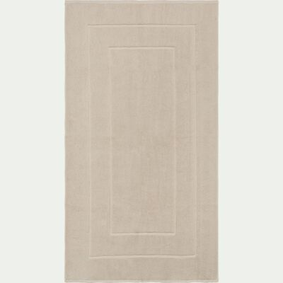 Maxi tapis en coton 60x110 cm beige roucas-AZUR