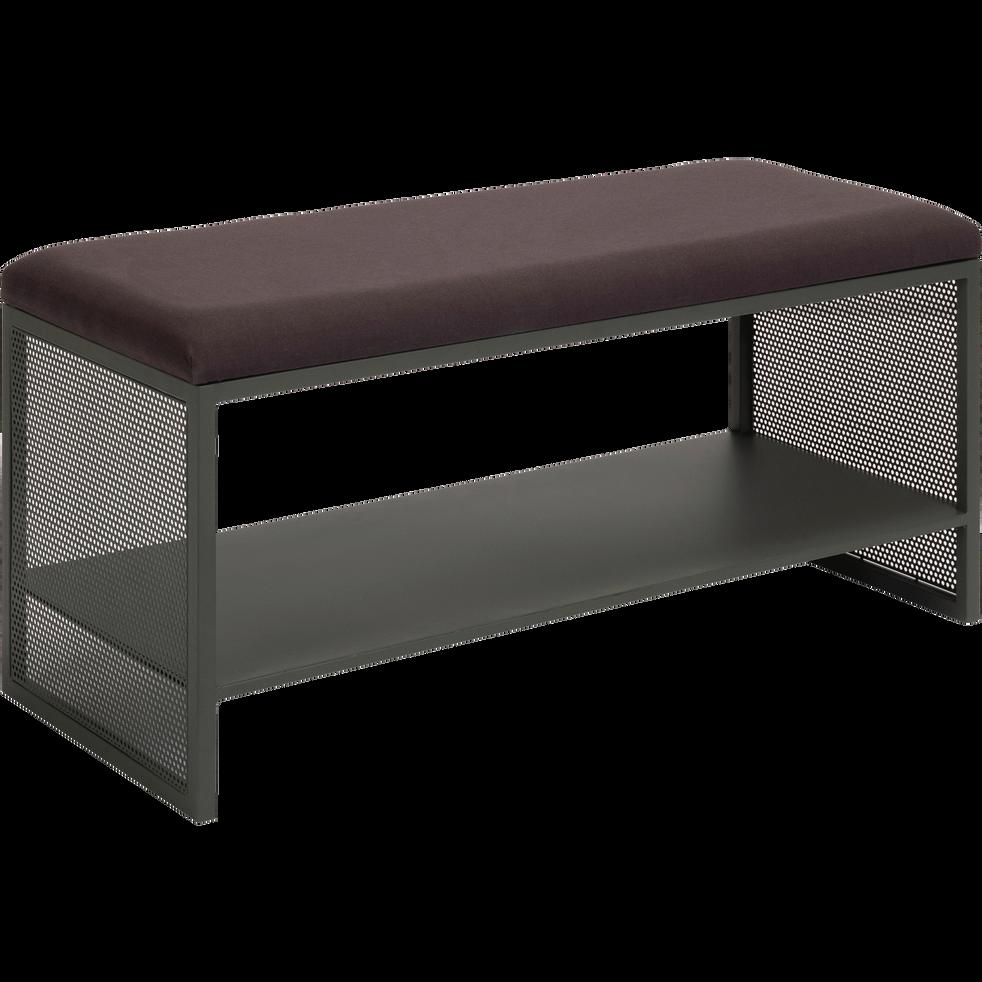 banc d 39 entr e vert c dre en m tal eleno meubles. Black Bedroom Furniture Sets. Home Design Ideas