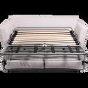 Canapé 3 places convertible BULTEX en tissu nougat-ICONE