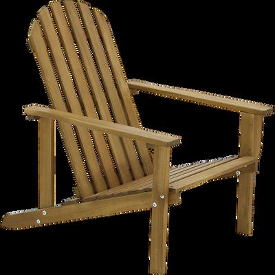Fauteuil pour enfant en bois naturel 46X57X60cm-LEON