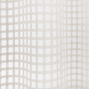 Voilage à oeillet écru 140x260cm-DELIL