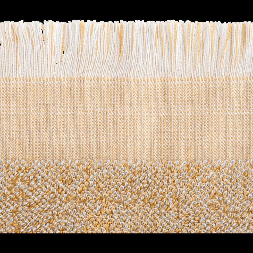 Drap de douche en coton 70x140cm beige nèfle-HANOI