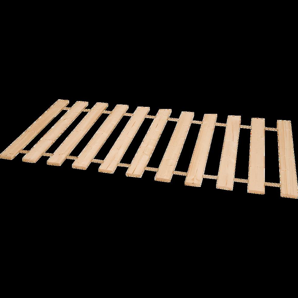 Sommier à lattes déroulable alinéa 1,8 cm - 140x200cm-Rolling