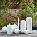 18 bougies chauffe-plats - blanc capelan-HALBA